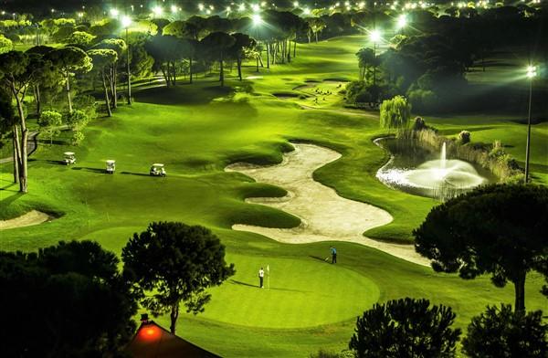 Golfing in Belek