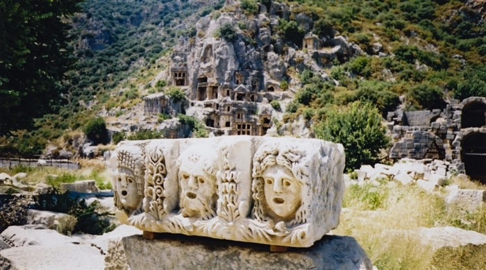 Myra ancient ruins