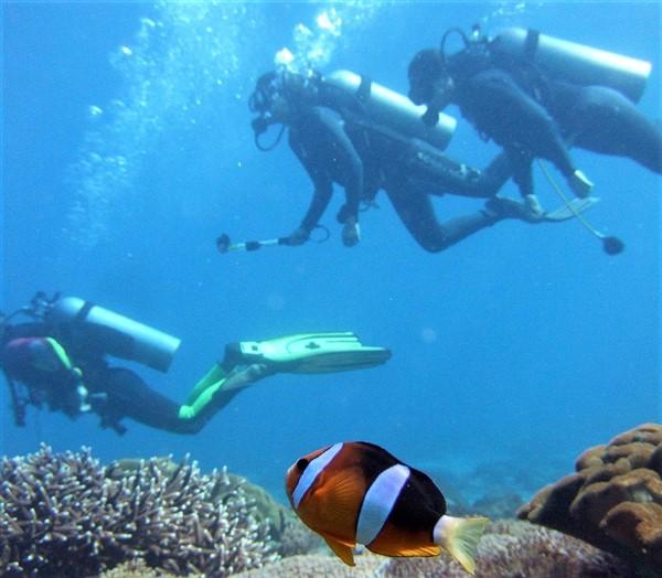 Scuba diving in Kas