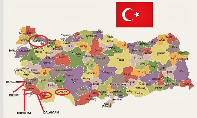 where do expats live in Turkey