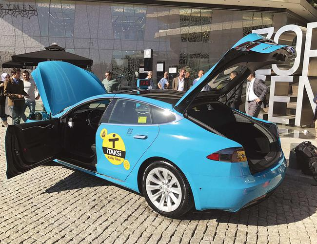 Istanbul Electric Taxis