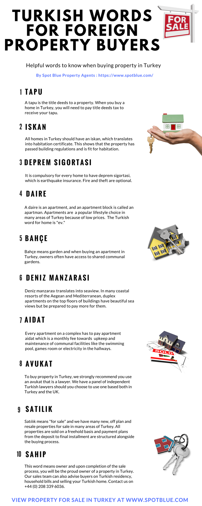 Turkish words for foreign property buyers