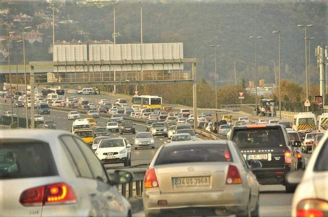 Istanbul Traffic congestion