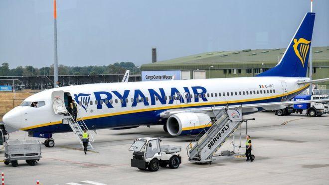 Ryaniar flights