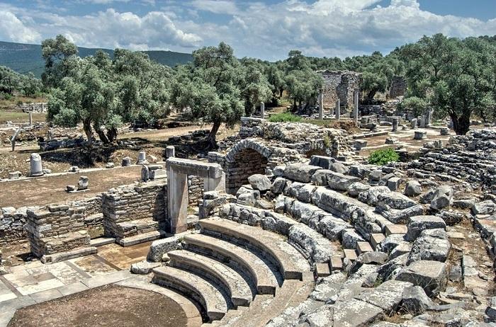 Iasos ancient ruins