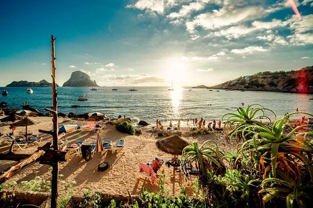 beautiful Spanish beach