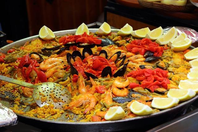 Paellla - Traditionally Spanish