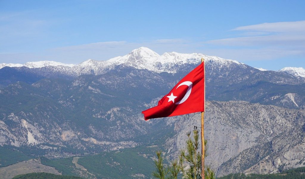 Buying Property in Turkey - Turkish Flag