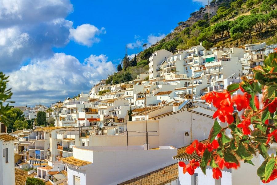 White village of Mijas. Costa del Sol, Andalusia, Spain