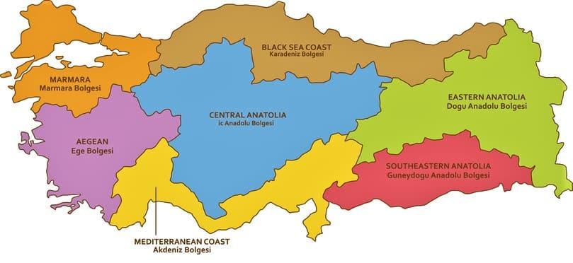 Regions-of-Turkey