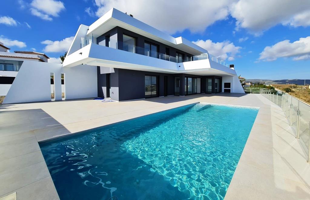 Modern Sea View Villa In Moraira