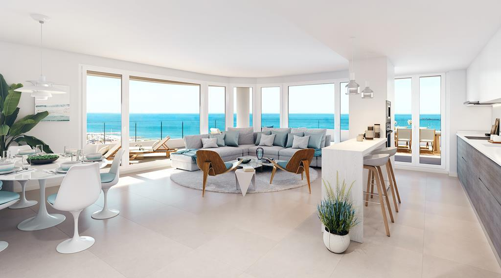Stylish Apartments In Canet