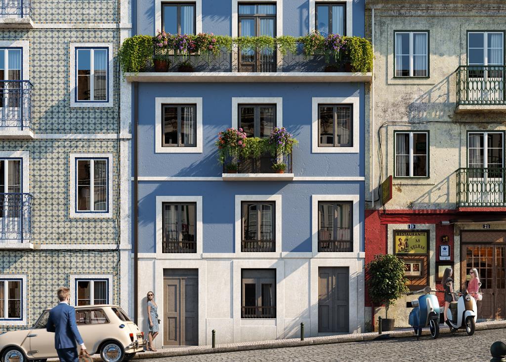 Modern Flats In Liberdade