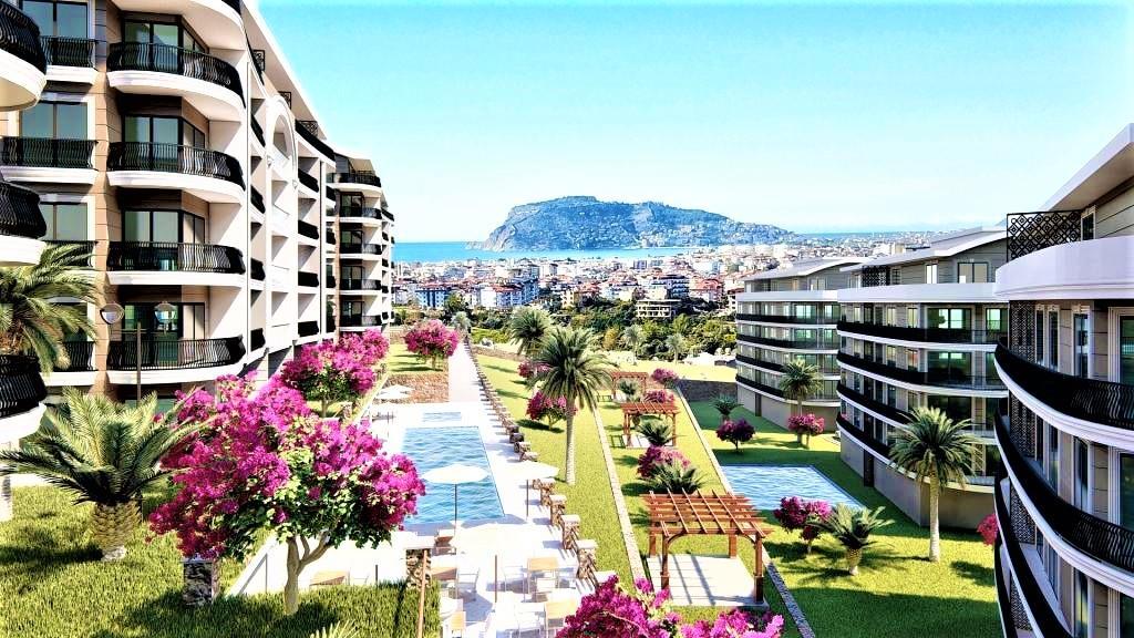 Sea View Apartments In Oba, Alanya