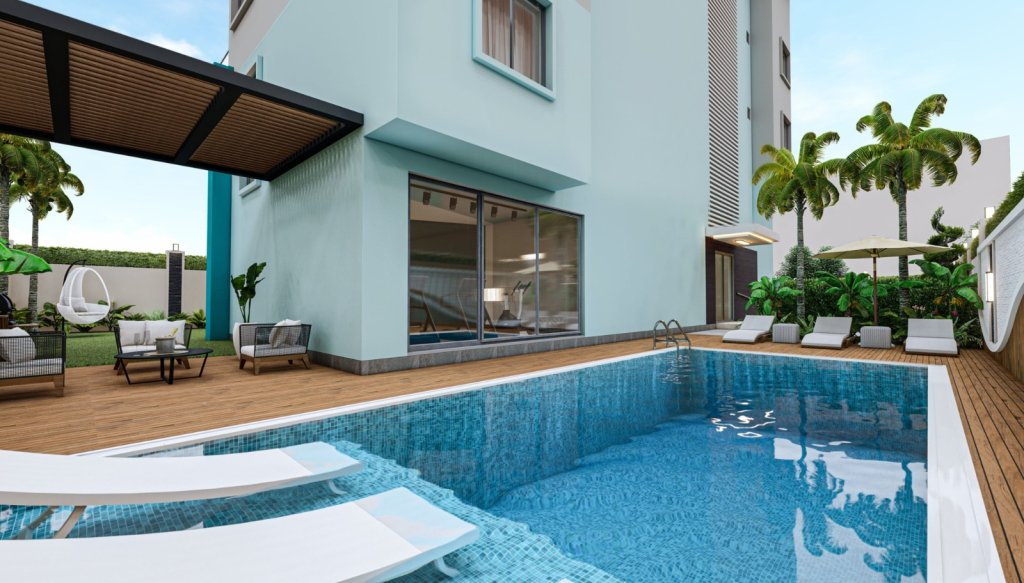 Contemporary Apartments In Oba, Alanya