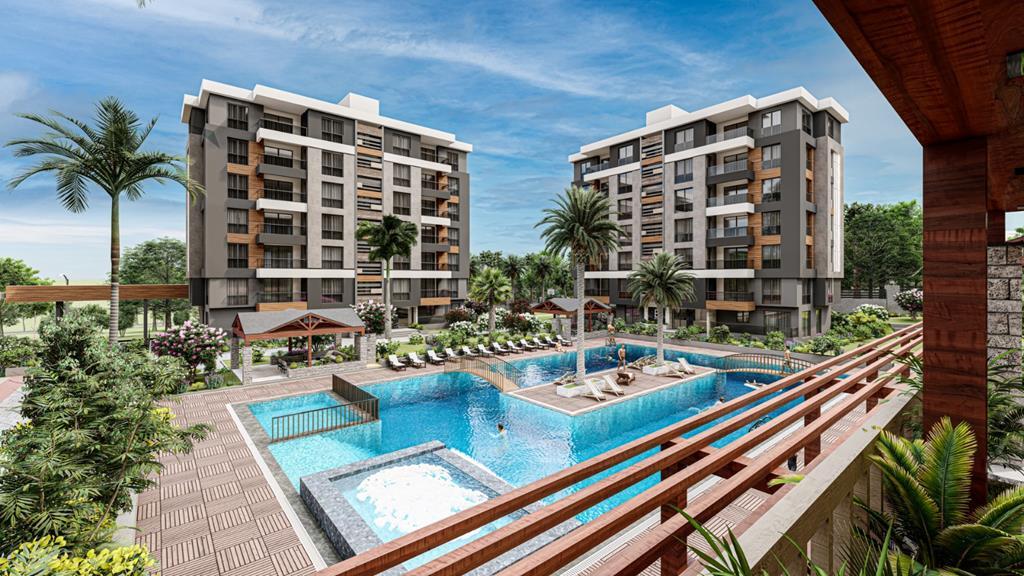 Lifestyle Flats In Kepez, Antalya