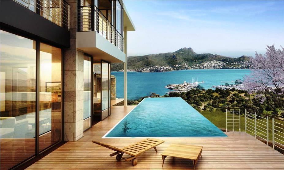 Exclusive Marina View Homes In Yalikavak